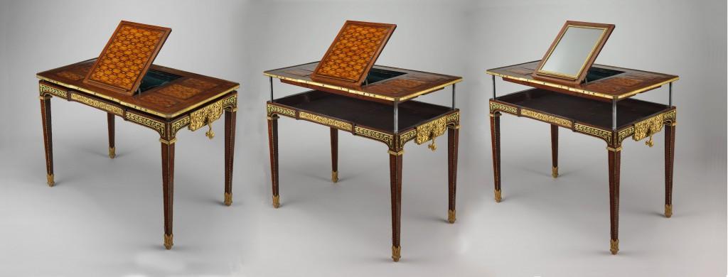 Tessé room desk in different configurations
