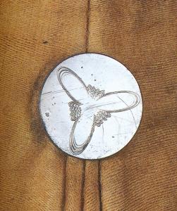 Metal button