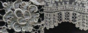 Venetian and French lace