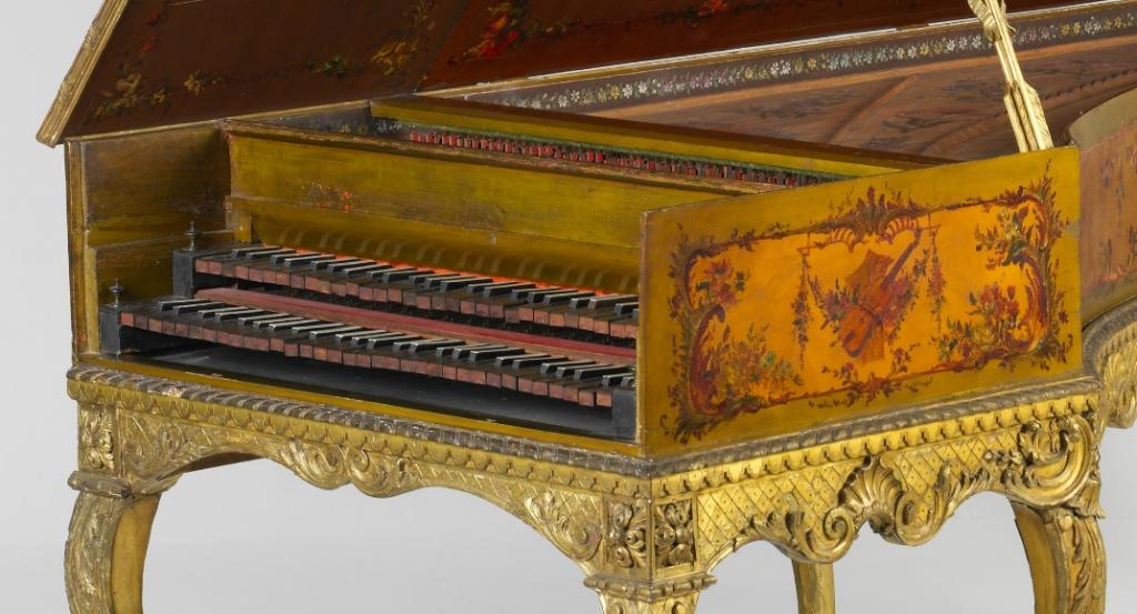 Louis Bellot harpsichord, 1742