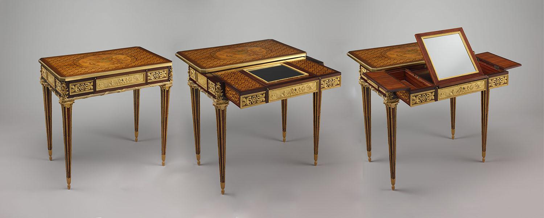 Riesener Mechanical Desk 1781