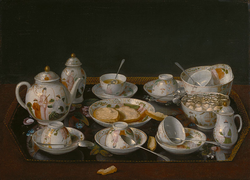 Still Life: Tea Set; Jean-Étienne Liotard (Swiss, 1702 - 1789)