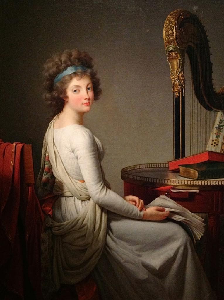 Self Portrait by Rose Adélaïde Ducreux